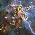 Carina Nebula Features, Hst Image by Science Photo Library