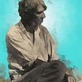 Carl Sandburg by Paulette B Wright