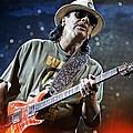 Carlos Santana On Guitar 2 by Jennifer Rondinelli Reilly - Fine Art Photography