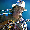 Carlos Santana On Guitar 3 by Jennifer Rondinelli Reilly - Fine Art Photography