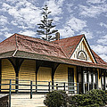 Carlsbad Railroad Depot by Photographic Art by Russel Ray Photos