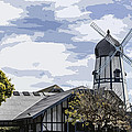 Carlsbad Windmill by Photographic Art by Russel Ray Photos