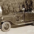 Carmel Fire Department Engine No. 3  Circa 1933 by California Views Archives Mr Pat Hathaway Archives
