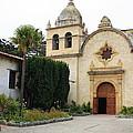 Carmel Mission Church by Carol Groenen