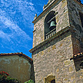 Carmel Mission In Sun by Kathy Yates