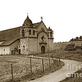 Carmel Mission Monterey Co. California Circa 1890 by California Views Archives Mr Pat Hathaway Archives