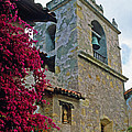 Carmel Mission Tower by Kathy Yates