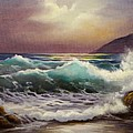 Carmel Sea Sunset Sold by Gail Salitui