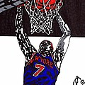 Carmelo Anthony by Jeremiah Colley