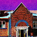 Carnegie Library North Platte by Sylvia Thornton