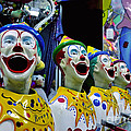 Carnival Clowns by Kaye Menner