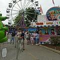 Carnival Ferris Wheel by Ann Willmore
