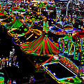 Carnival - Midway West by Kathi Shotwell