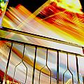 Carnival Ride Fence by David DeCenzo