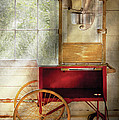 Carnival - The Popcorn Cart by Mike Savad
