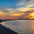 Carolina Beach River Sunset II by Phil Mancuso