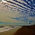 Carolina Blue Sky And Pier 10 10/17 by Mark Lemmon