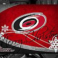 Carolina Hurricanes Christmas by Joe Hamilton