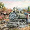 Carolina Morning Train by Beverly Levi-Parker