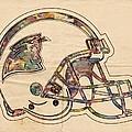 Carolina Panthers Logo Art by Florian Rodarte