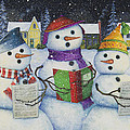 Caroling by Lynn Bywaters