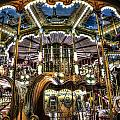 Carousel At Hotel Deville by Evie Carrier