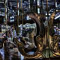 Carousel At Night by Evie Carrier