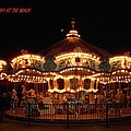 Carousel - Broadway At The Beach - Myrtle Beach Sc by Dianna Jackson