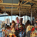 Carousel Brooklyn Bridge Park by Diane Lent