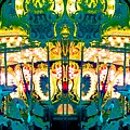 Carousel Convergence by Marianne Dow