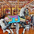 Carousel Horse 4 by VLee Watson