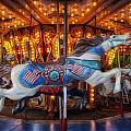 Carousel Horse Equ226687 by Dean Wittle