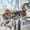 Carousel Horse In Negative Colors by Rob Hans