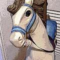 Carousel Horse by Lovina Wright