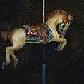 Carousel Horse Painterly by Ernie Echols