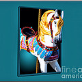 Carousel Horse White by Thomas Woolworth