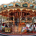 Carousel In Avignon by Laurel Talabere