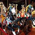 Carousel In Florence Italy by Jacqueline M Lewis