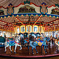 Carousel Ride by Jerry Cowart