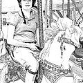 Carousel Rider by Alice Gipson