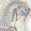 Carousel Stallion by Lilliana Mendez