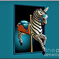 Carousel Zebra by Thomas Woolworth