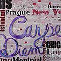 Carpe Diem by Jacqueline Athmann
