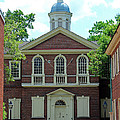 Carpenters Hall In Philadephia by Karen Adams