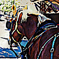 Carriage Horse by Alice Gipson