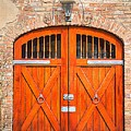 Carriage House Doors by Linda Covino