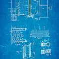 Carrier Air Conditioning Patent Art 1906 Blueprint by Ian Monk