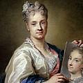 Carriera Rosalba, Self-portrait, 1715 by Everett