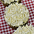 Carrot Cupcakes by Susan Leggett