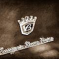 Carrozzeria Boano Emblem by Jill Reger